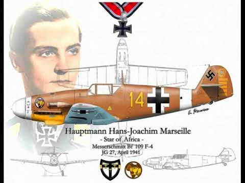 Hans Joachim Marseille, Star of Africa