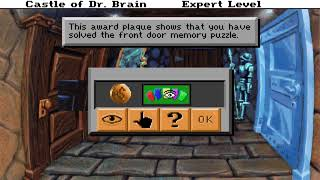 The REAL Brainy Doctor - AlphaPlays: Castle of Dr. Brain (DOS) w/ solar