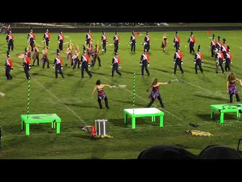 2019 Marengo Competition - Evanston High School Marching Band