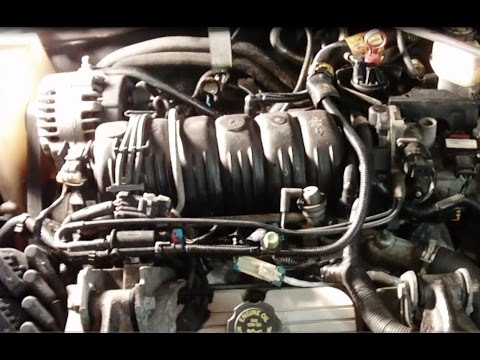 GM 3.8L 3800 Series II engine upper and lower intake manifold & valve cover gasket replacement