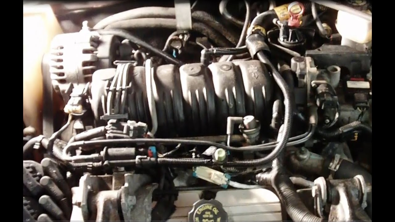 small resolution of gm 3 8l 3800 series ii engine upper and lower intake manifold valve cover gasket replacement