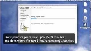 كيفية إنشاء OS X 10.8 ( اسد الجبل ) للتمهيد USB intel الكمبيوتر ( hackintosh )