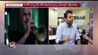 Indie Rock Musician And Singer Alluri Sriram Face To Face | Rockstar | V6 News