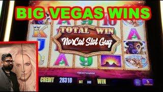 BIG WINS BUFFALO GOLD 💵 & DA JI DA LI in Las Vegas | NorCal Slot Guy