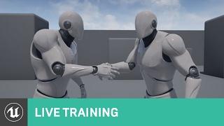 Almak AI | Canlı Eğitim | Unreal Motoru ile Başladı