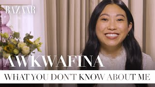 Awkwafina shares her guilty pleasure, career advice, and what makes her happiest | Bazaar UK