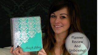 Erin Condren Wedding Planner Unboxing and Review! *WEDDING SERIES* Thumbnail