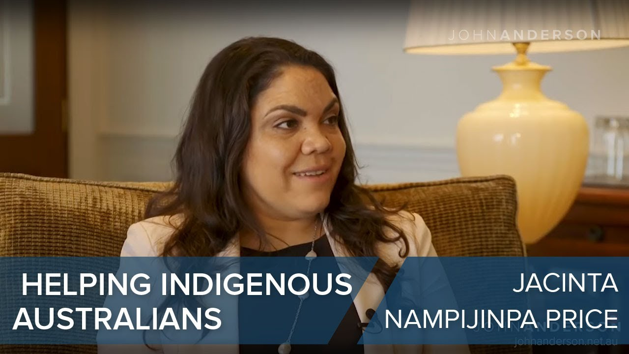 Jacinta Nampijinpa Price | How can we best help Indigenous Australians?