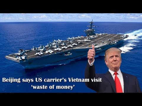 China Says U.S. Carrier's Vietnam Visit Was a 'Waste of Money'