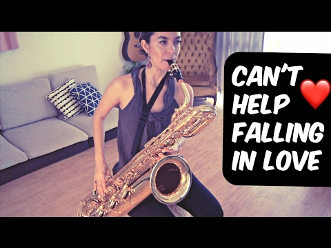 Baritone Sax Cover - Can't Help Falling In Love