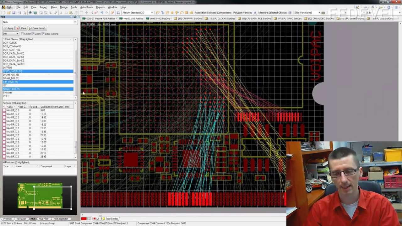 Advanced PCB Layout - Lesson 8 of Schematic & PCB Design Course ...