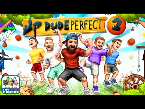 Dude Perfect 2 - Hit The Most Epic Trick Shot Challenges Yet (iOS/iPad Gameplay)