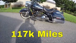My 117 Thousand mile Road King (still crushing it)