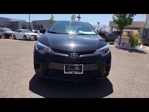 2016 Toyota Corolla Reno, Sparks, Carson City, Sacramento, Nevada 2066