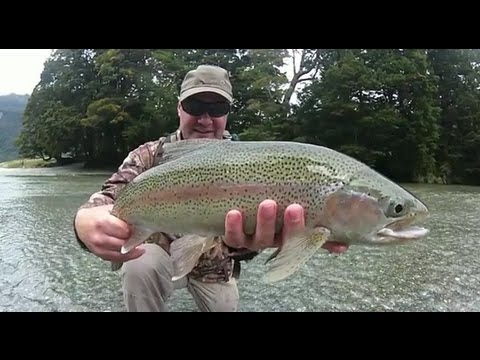 Rapala Spin Fishing for large New Zealand Trout