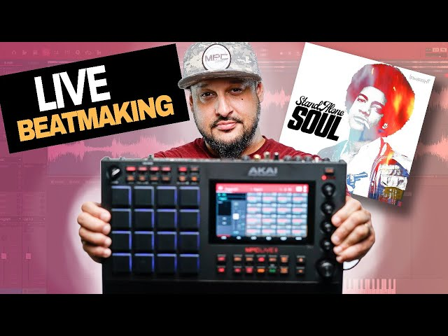 🔴MPC 2.10 BEST NEW Features!!! | Live cookup with my new loop pack StandAlone Soul!!! 😲