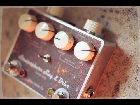 Stratosphere Sing&Drivel strip/dual overdrive demo with stratocaster &twin reverbe chann