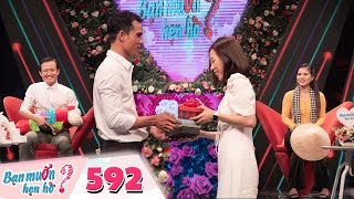Wanna Date | Ep 592: Gorgeous and charismatic Western country girl makes Hong Van want to leave