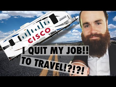I QUIT MY JOB TO TRAVEL - CCNA CCNP Success Story!!
