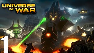 Universe at War: Earth Assault Campaign Part 1 Invasion of the Walkers!