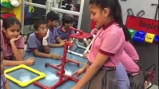 Students honing their skills at Techno Skill Lab: MRIS-21C, Faridabad