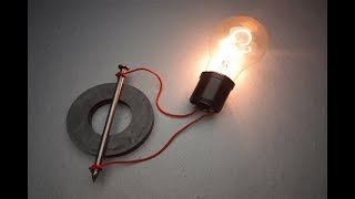 WOW Experiment Electric Science Magnet​ & Speaker / New Ideas Free Energy 100%