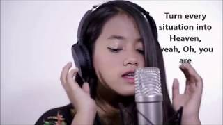 Despacito X Sorry (Lirik Video) By Hanin Dhiya