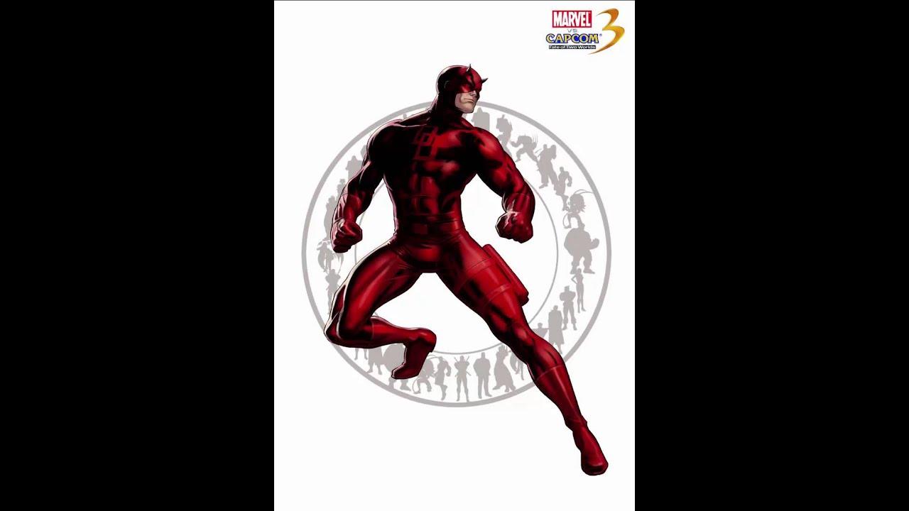 Ultimate Marvel VS Capcom 3 - Theme of Daredevil - YouTube | 752 x 1064 jpeg 53kB