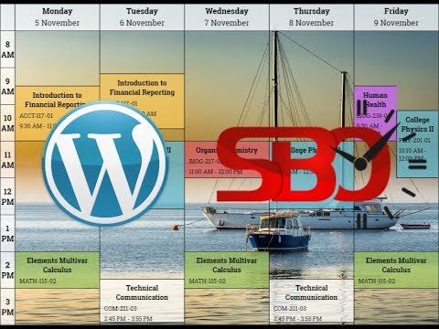schedule builder online wordpress plugin guide youtube