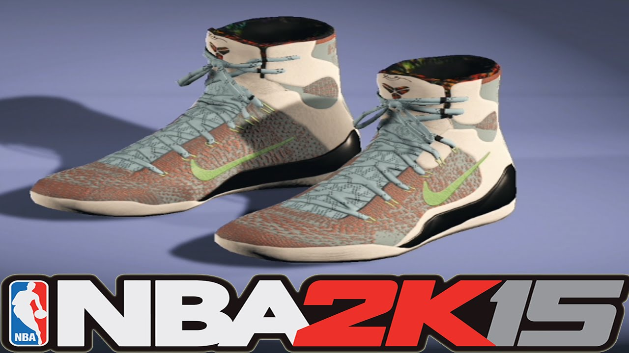 8c519d98d71d NBA 2K15 Shoe Creator - Nike Kobe 9 What The (O) ⋆ NBA2K15⋆ - YouTube