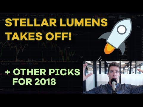 Stellar Lumens Takes Off 🚀 - Cardano, Zcoin, Civic, Peter Thiel and Short Term Tactics - CMTV Ep116