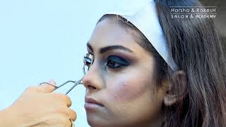 Bridal Makeup - Reception Makeup and Hairstyle