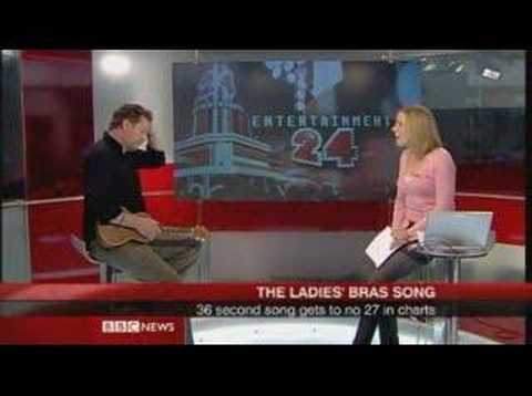 "Wisbey Singing ""The Ladies' Bras"" On BBC NEWS 24"