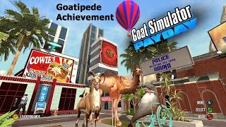 Goat Simulator PayDay DLC (Xbox) Goatipede Achievement Guide