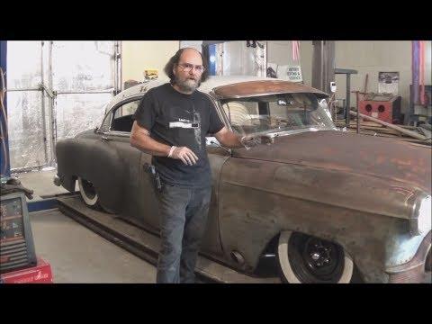1953 Chevy Rat Rod Exhaust