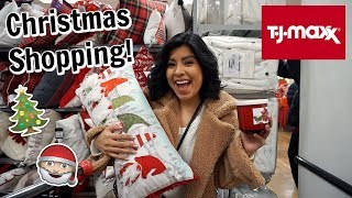 Come Christmas Shopping with me at TJMAXX!