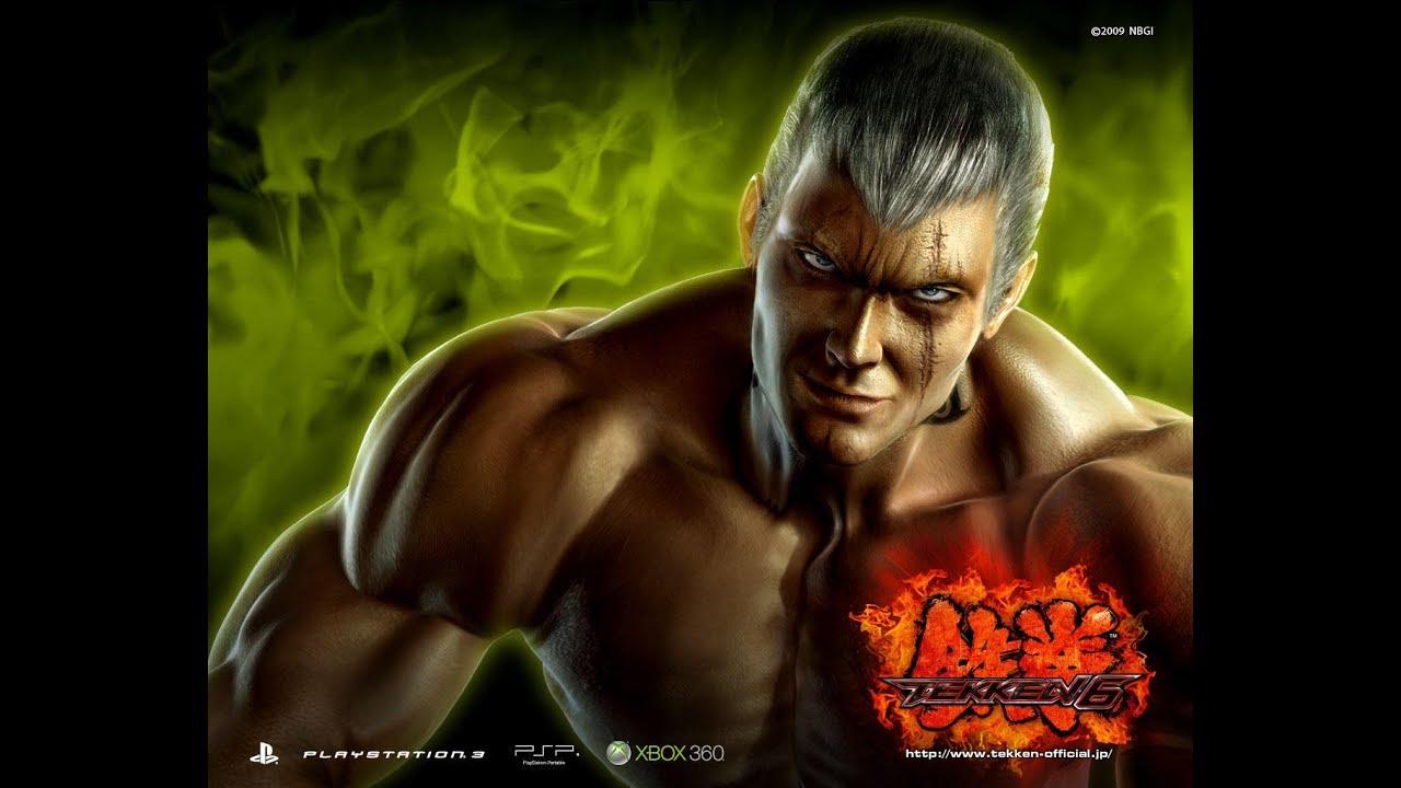 Tekken 6 Psp Playthrough Story Mode With Bryan Fury Youtube