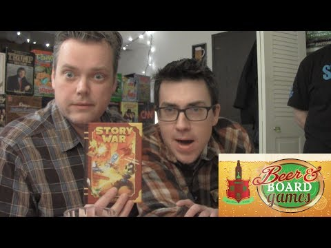 Story War (Beer and Board Games)