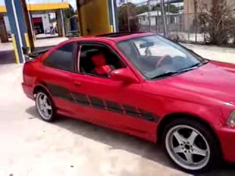 Mi Carro Honda Civic 96 Youtube