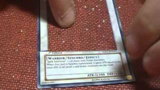 Yugioh Tutorial 1 - How to Make Custom Holographic Tokens EASY!