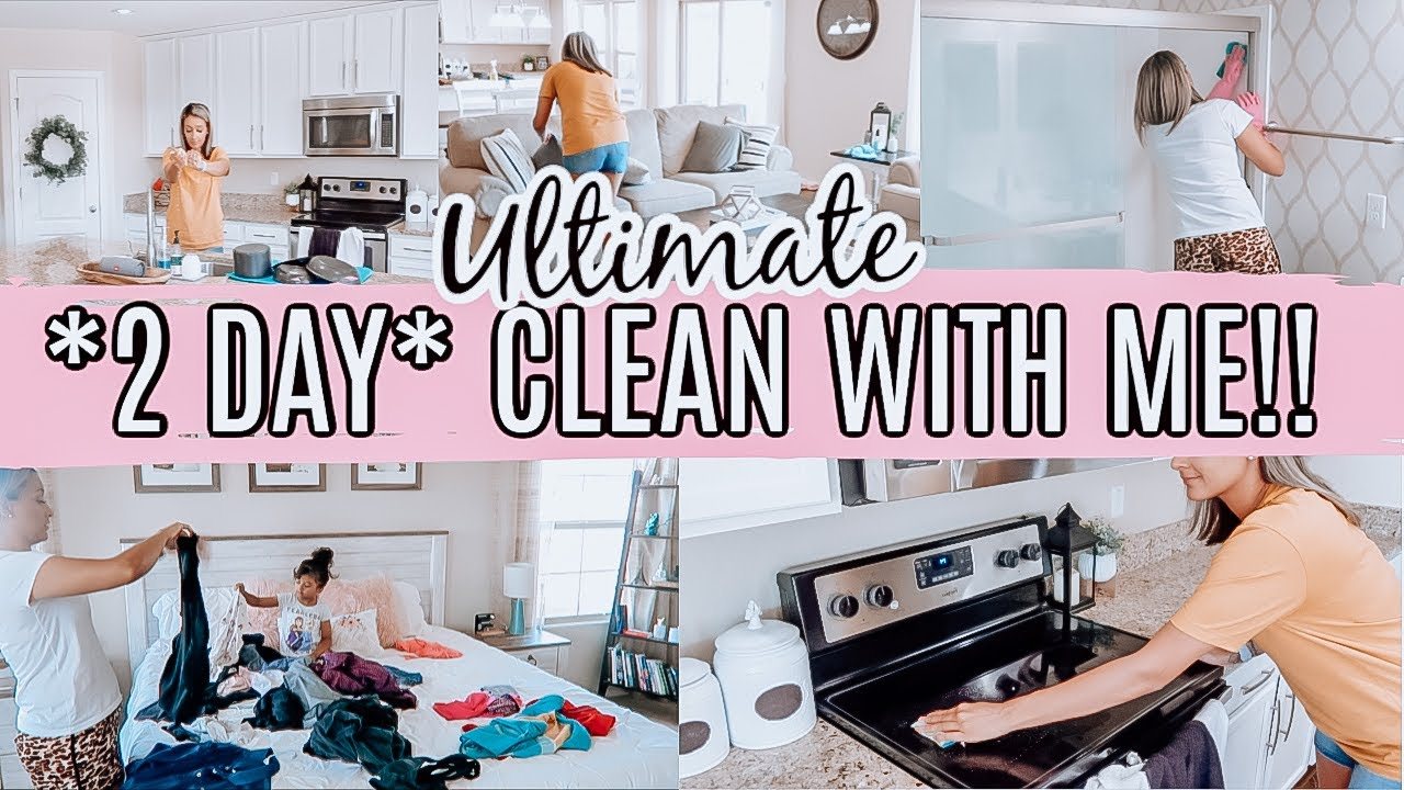 EXTREME CLEAN WITH ME 2020 | ULTIMATE CLEANING MOTIVATION | SPEED CLEANING MY HOUSE