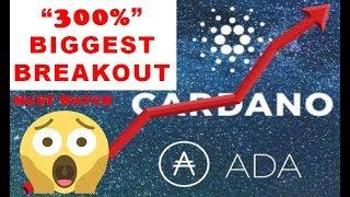 CARDANO (ADA) PRICE PREDICTION 2020 - 300% BREAKOUT!