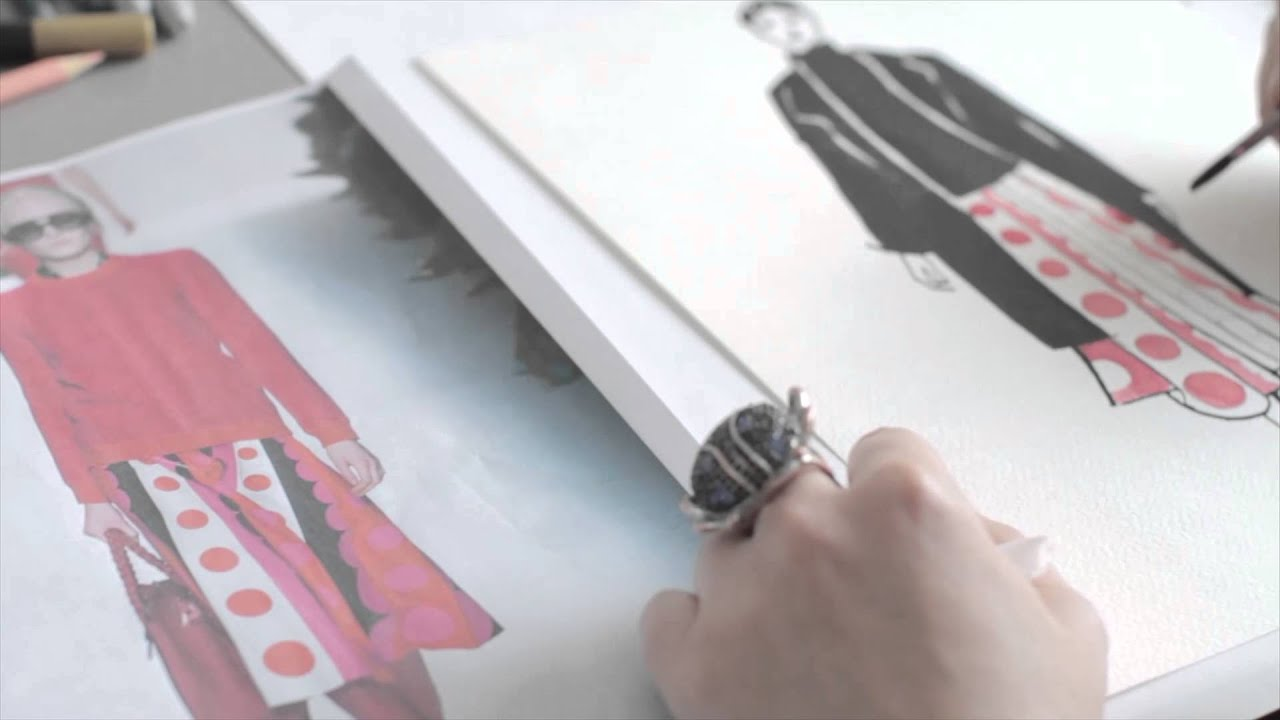 Fashion Illustration London College Of Fashion Short Courses Youtube
