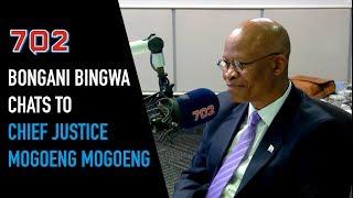 Bongani Bingwa Chats with Chief Justice Mogoeng Mogoeng