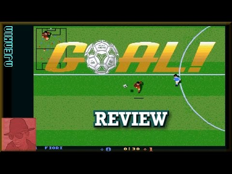AMIGA : Goal! - with Commentary !!