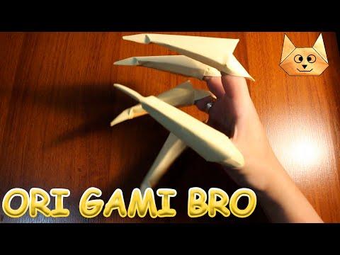 Как сделать когти из бумаги. Оригами. Рука ведьмы.