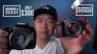 Building a Canon DSLR Kit for $300 and Hustling Your Way Up to Full-Frame