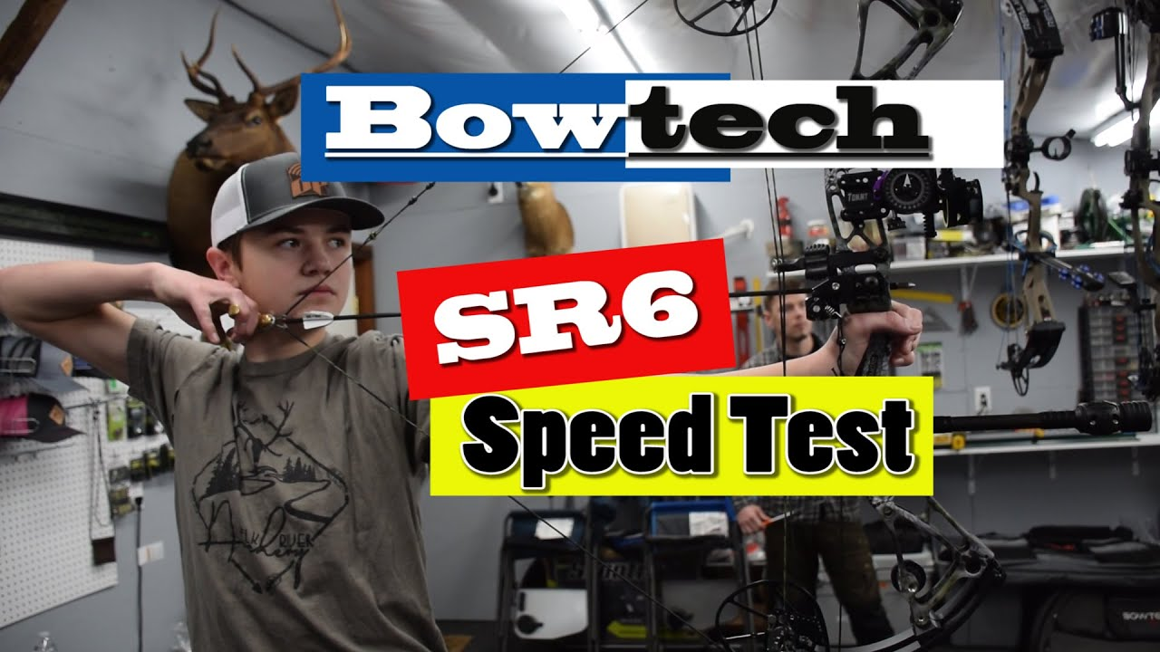 JUST HOW FAST IS THE BOWTECH SR6? | 2019 BOWTECH SR6 SPEED TEST