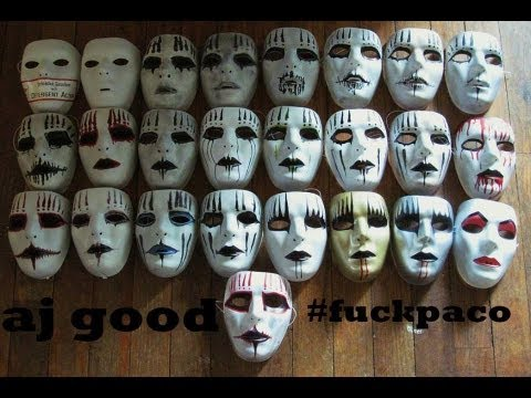 Joey Jordison Mask Collection