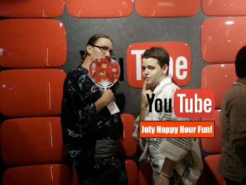 YouTubeSpace Tokyo, Japan Happy Hour July!!!